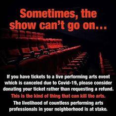 #covid_19 #coronavirus #performingarts #supportthearts #socialdistancing #dancelife #supportdancers #donatetothearts #donateyourtickets Dancer, Instagram, Art, Craft Art, Dancers, Kunst, Gcse Art, Art Education Resources