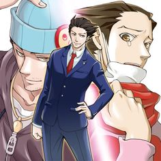 Phoenix Wright God I love this game and phoenix was too cool