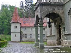 Shenborn Castle - Carpathia - Landmarks in Ukraine
