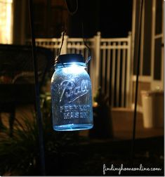Solar Light DIY - Mason Jar Crafts Love