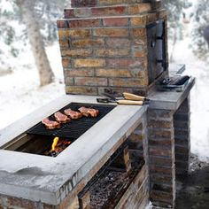 BBQ Smoker Grill. Just the idea makes me hungry.