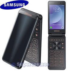 "SAMSUNG GALAXY FOLDER 2 SM-G160N 3.8"" UNLOCKED PHONE QUAD-CORE 2GB (BLACK) #Samsung #FolderTouchScreen"