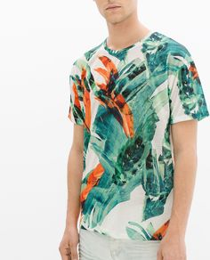 PRINTED T - SHIRT - Collection - Stock clearance - MAN - SALE | ZARA Germany