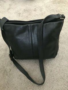 Women's / Girls Black Genuine Leather Shoulder hand Bag  #Genuine #ShoulderBag Messenger Bag, Satchel, Shoulder Bag, Handbags, Girls, Leather, Ebay, Accessories, Shoes