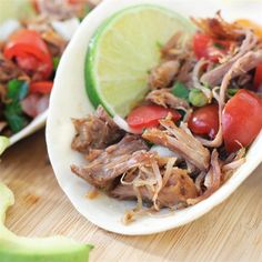 """Carnitas - Pressure Cooker   """"This was fantastic! The pork was fall apart tender and the most moist pork shoulder I have ever had."""""""