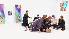 Jimin got tackled and Taekook don't give a shit ❤ BTS 'WINGS' preview SHOW on V LIVE #BTS #방탄소년단