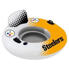 Pittsburgh Steelers Relaxing Ring Inner Tube Inflatable Float - Gold...Would be great for float downs!!