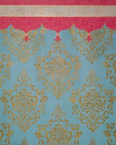 This elegant, versatile Ornamental Cartouche damask wall stencil pattern looks great stenciled as a repeating allover pattern on wall, as a random motif, and even as a single stencil focal point. Stencil Pattern Size: x Sheet Size: x Layer DesignSKU Damask Wall Stencils, Wall Stencil Patterns, Stencil Painting On Walls, Diy Wall Painting, Stencil Designs, Wall Stenciling, Damask Wallpaper, Wall Decals, Wall Décor