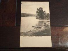 Historical Fulton Island On The Wabash Antique Postcard 201589 Valentine Sons