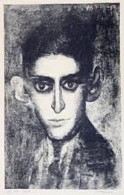 Franz Kafka died young and asked his friend to burn all his writings. Had the friend done that, we never would have heard of this writer. Illustration, Drawings, Painting, Art, Pictures, Black And White, Portrait, Portrait Art, Human Soul