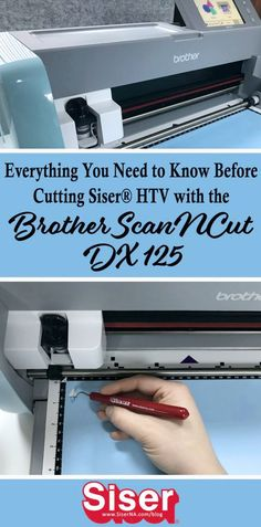 Siser's review of the new Brother ScanNCut DX 125 is live now! See all the new improvements and learn how to properly test cut with the Auto Blade in today's post. Home Screen Pictures, Brother Scanncut2, Paper Cutting Machine, Scan N Cut Projects, Iron On Vinyl, Brother Scan And Cut, Vinyl Cutting, Heat Transfer Vinyl, Cricut