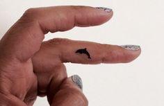 Items similar to 20 Dolphin Temporary Tattoo Tiny / Finger Face Tattoo / Fake Tattoos / Set of 20 on Etsy Pin Up Tattoos, Fake Tattoos, Trendy Tattoos, Mini Tattoos, Leg Tattoos, Sleeve Tattoos, Tattoos For Guys, Cool Tattoos, Tatoos