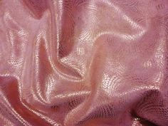 """Leather 8""""x10"""" GOLD Metallic Chinese Dragon On PINK Cowhide 3-3.5 oz / 1.2-1.4 mm PeggySueAlso?"""