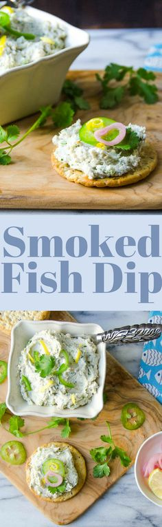 The BEST recipe for Smoked Fish Dip in Florida!  Make it a day ahead so the flavors will marry!  Delicious with pickled onions and jalapenos! via @GarlicandZest