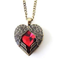 Angel's Heart Pendant - Florence Scovel