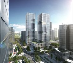 gmp Designs New Headquarters for CNPEC in Shenzhen, China,Courtesy of gmp Architekten