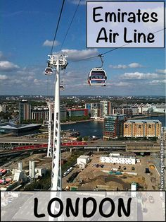 River Thames cable car: Flying the Emirates Air line