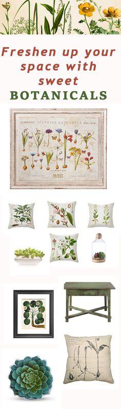 Botanical bliss - trending interior 2015 ==