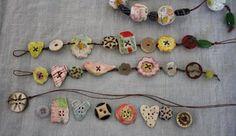 Button bracelets: