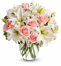 Tender Heart Bouquet: Flower Bouquets - A touching combination of sweet, fresh flowers.