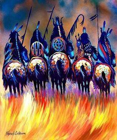 Farrell Cockrum, Blackfeet