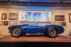 1966 Shelby Cobra Super Snake Carroll Shelby built this car as his personal plaything. Here's what you need to know: Carroll took a normal 427 Competition Cobra—already one of the rarest and fastest Cobras produced—and promptly put two superchargers on it.