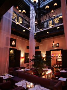 Le Foundouk Restaurant is located in the Marrakech Medina. Le Foundouk Restaurant is a hip place to dine in Marrakech. Le Foundouk offers a French-Moroccan menu.