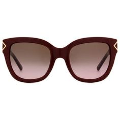 Tory Burch TY9034 Women's Sunglasses ($195) ❤ liked on Polyvore featuring accessories, eyewear, sunglasses, burgundy, oversized glasses, over sized sunglasses, tory burch sunglasses, tory burch eyewear and tory burch glasses