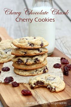 I love the combination of dark chocolate and tangy fruit--raspberry, cranberry, strawberry and cherry--they all pair perfectly with chocolate! And I've been thinking about putting dark chocolate an...