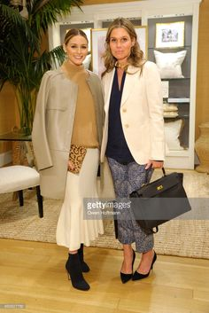 Olivia Palermo and Aerin Lauder attend The AERIN Collection by Williams Sonoma Launch Breakfast with Aerin Lauder at Williams Sonoma on April 6, 2017 in New York City.