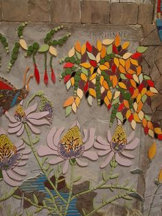 Awesome #mosaic #flowers