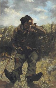 The Desperate Man (Self-Portrait) - Gustave Courbet - WikiArt.org