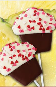 FREE Edible Arrangements Lovely Cupcake™ Pineapple Pop!                                                                                                                                                                                 Más