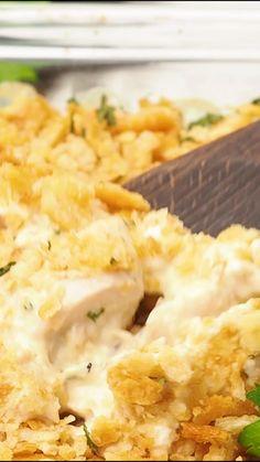 Million Dollar Chicken Casserole - Plain Chicken Authentic Mexican Recipes, Mexican Food Recipes, Fruit Recipes, Meat Recipes, Cheesy Recipes, Easy Casserole Recipes, Casserole Dishes, Casserole To Freeze, Potato Casserole