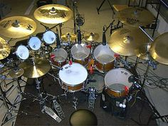Amazing Drum Sets - Big Drums