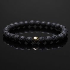 All the Spring Sale orders have now been shipped & we have refined our selection of jewelry - as well as introducing a few new editions including this 6mm Lava Stone & 9ct Gold minimal bracelet.  Shop men's bracelet at www.lukze.com  #Lukze #London #luxury #handmade #jewelry #jewellery #menstyle #mensfashion #mensstyle #menswear #bracelet #gold #style #fashion #formen #exclusive #lava