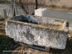 Large stone feeding trough