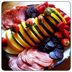 Edel's Mat & Vin : Spekemat med potetsalat og eggerøre