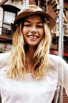 "Jessica Hart for Maison Scotch ""Été Blanc"" Campaign by Benny Horne"