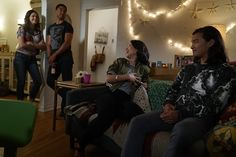 """#TheFosters 4x04 """"Now for Then"""" - Callie, AJ, Mariana and Mat"""