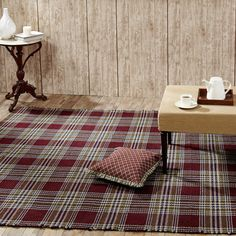 Jackson Wool & Cotton Rectangle Rug 96 x 132 from the Flooring collection by Victorian Heart (VHC Brands). Wool is used as the main component of this high quali