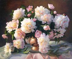 Zbigniew Kopania. Peonies ~ Blog of an Art Admirer