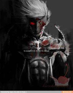 Raiden Metal Gear, Metal Gear Solid Series, Character Art, Character Design, Metal Gear Rising, Graffiti Wallpaper, Boy Images, Futuristic Art, Samurai