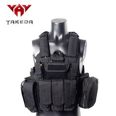 2016 Military Tactical Vest Police Paintball Wargame Wear MOLLE Body Armor Hunting Vest CS Outdoor Products Equipment Black #clothing,#shoes,#jewelry,#women,#men,#hats,#watches,#belts,#fashion,#style
