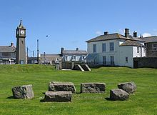 A 'Plain an Gwarry' (Cornish = 'playing place'): an open air performance area used historically for entertainment and instruction. This Plain an Gwarry is in St Just in Penwith.