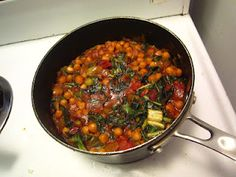 Chickpea and Swiss Chard Curry