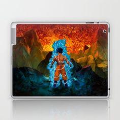 Blue warrior abstract Laptop & iPad Skin @pointsalestore @society6thresecond #laptop #ipadskin #Painting #Oil #Digital #Acrylic #Streetart #Abstract #Dragonball #Dragon #ball #Dragonballsuper #Sungoku #Vegeta #Bezita #Supersaiyan #Retro #Capsulecorps #Shenlong #Shenron #Kids #Cartoons #Manga #Piccolo