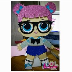 1 million+ Stunning Free Images to Use Anywhere Foam Crafts, Diy And Crafts, Crafts For Kids, 6th Birthday Parties, Girl Birthday, Doll Party, Valentine Box, Lol Dolls, Unicorn Party