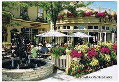 SHAW CAFE & WINE BAR, 92 QUEEN ST, NIAGARA ON THE LAKE, ONTARIO CANADA