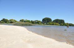 Tagus River - Beach when low tide